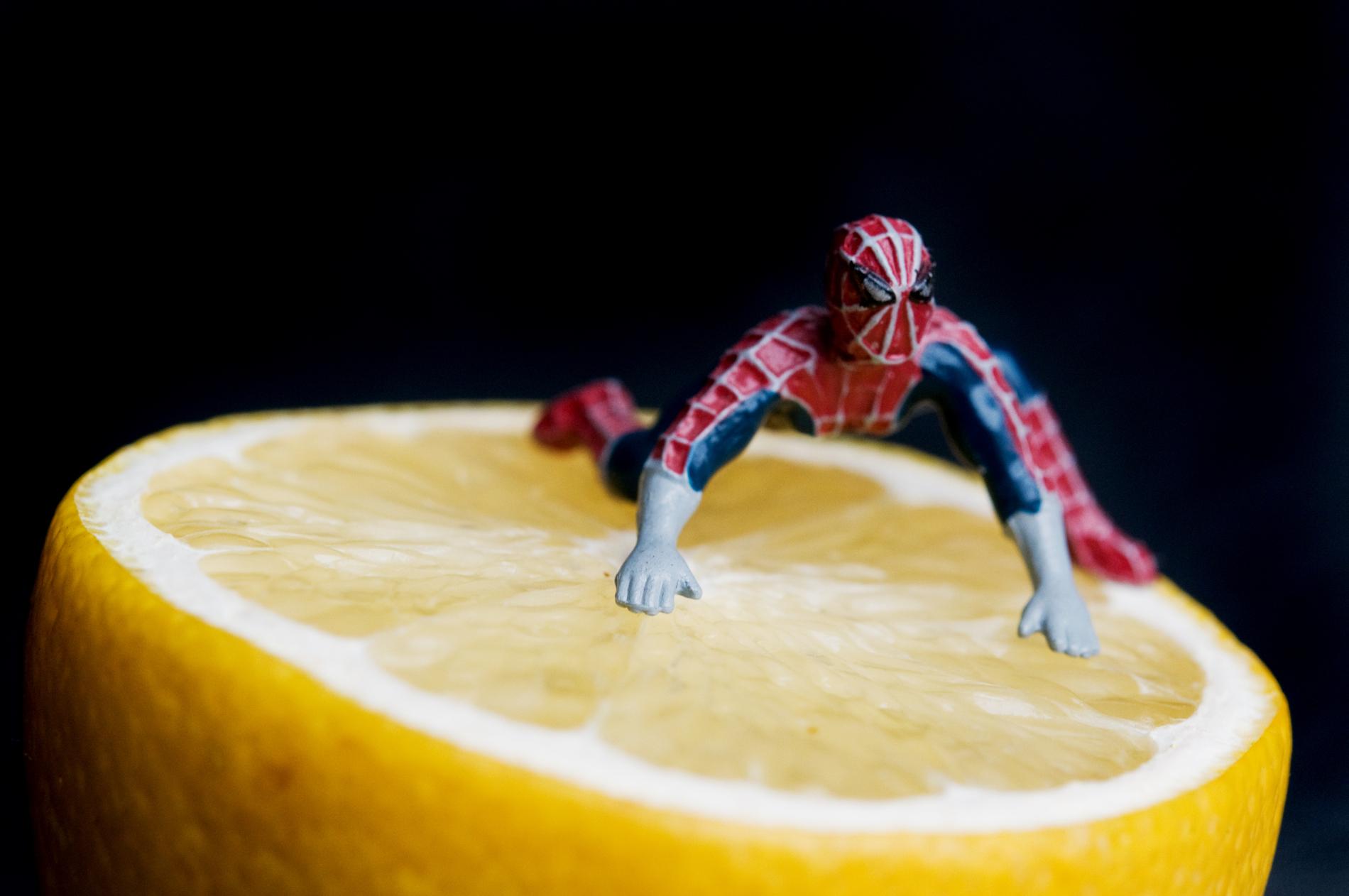 Spiderman ist sauer
